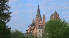 Grand Cathedral at Limburg Germany at the Lahn river