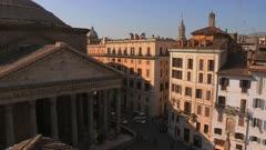 Pantheon at the Piazza Della Rotonda in Roma