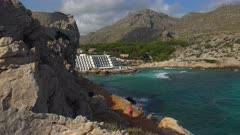 Cala Clara in Cala San Vicente, Majorca, Balearic Islands, Spain, Mediterranean, Europe