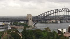 Sydney Opera House and Sydney Harbour Bridge, Sydney, New South Wales, Australia, Pacific