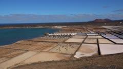 Salinas de Janubio near La Hoya, Lanzarote, Canary Islands, Spain, Atlantic, Europe
