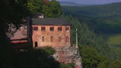 Hermitage with Funerary Chapel for John of Bohemia near Kastel-Staadt, Saar Valley, Rhineland-Palatinate, Germany, Europe