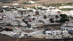 View of Teguise, Lanzarote, Canary Islands, Spain, Atlantic, Europe