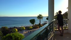 Gardens of Hotel Natura Palace, Playa Blanca, Lanzarote, Canary Islands, Spain, Atlantic, Europe