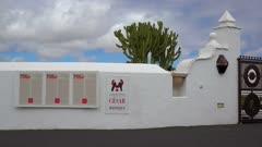 Fundacion Cesar Manrique near Tahiche, Lanzarote, Canary Islands, Spain, Atlantic, Europe