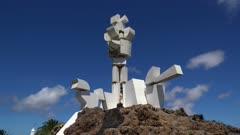 Monumento al Campesino in San Bartolome, Lanzarote, Canary Islands, Spain, Atlantic, Europe