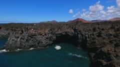 Los Hervideros, Lanzarote, Canary Islands, Spain, Atlantic, Europe