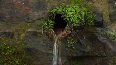 Small well, Kastel-Staadt, Rhineland-Palatinate, Germany, Europe
