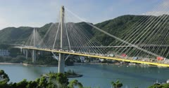 Ting Kau Bridge, Tsing Yi, Hong Kong, China, Asia