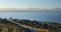 View of Mossel Bay, Western Cape, South Africa, Africa