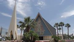 Guardian Angel Cathedral on The Strip, Las Vegas Boulevard, Las Vegas, Nevada, United States of America, North America