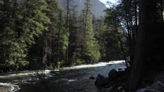 View of El Capitan and Merced River, Yosemite National Park, UNESCO World Heritage Site, California, United States of America, North America