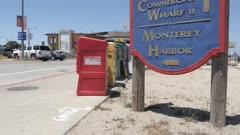 Old Fisherman's Wharf sign, Monterey Peninsula, California, United States of America, North America