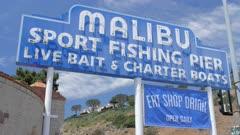 Malibu Pier, Sport Fishing Pier, Malibu, California, United States of America, North America