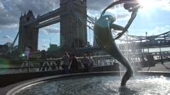 Time-Lapse of Tower Bridge, London, England, United Kingdom, Europe