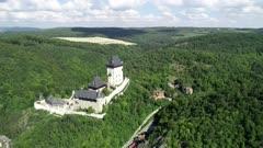 Europe, Czech Republic, Karlstejn castle