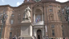 Palazzo Carignano in Piazza Carignano, Turin, Italy, Europe
