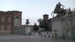 Palazzo Reale di Torino in Piazzetta Reale, Turin, Italy, Europe