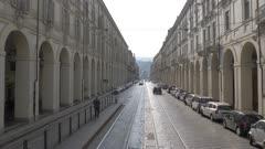 Via Po in Turin, Italy, Europe