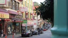 Grant Street in Chinatown, San Francisco, USA, North America