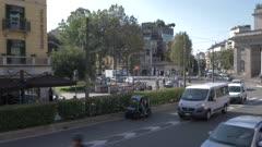 Street in Milan, Italy, Europe