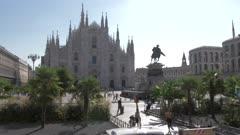Piazza del Duomo and Duomo di Milano in Milan, Italy Europe