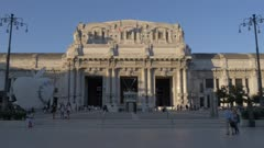 Milano Centrale railway station in Milan, Italy, Europe