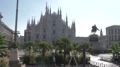 Duomo di Milano in Piazza del Duomo in Milan, Italy, Europe