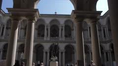 Pinacoteca di Brera art gallery in Milan, Italy, Europe