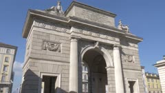 Porta Garibaldi in Milan, Italy, Europe