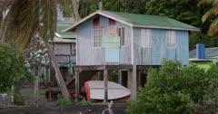 Shipbuilders hut, Windward, Carriacou, Grenada, West Indies, Caribbean, Central America