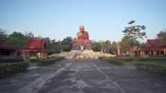 Wat Maha That Wachiramongkol (Wat Bang Thong), a famous temple in Krabi Province, Thailand, Southeast Asia, Asia