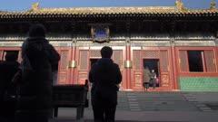 Inside Tibetan Buddhist Lama Temple (Yonghe Temple), Dongcheng, Beijing, People's Republic of China, Asia