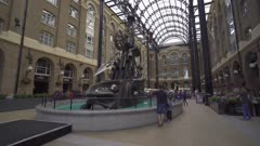 Hay's Galleria near River Thames, London, England, United Kingdom, Europe