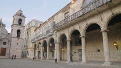 La Catedral de la Virgen Maria in La Habana Vieja (Old Havana), UNESCO World Heritage Site, Plaza de la Catedral, Havana, Cuba, West Indies, Caribbean, Central America