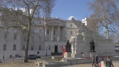 Royal Artillery Memorial in springtime, Hyde Park Corner, London, England, United Kingdom, Europe