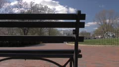 View from Lafayette Square of White House, Washington DC, United States of America, North America