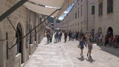 Stradun, Dubrovnik Old Town, UNESCO World Heritage Site, Dubrovnik, Dubrovnik Riviera, Croatia, Europe