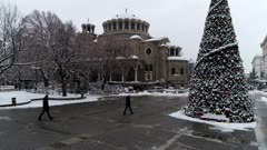 Holy Nedelya Church at Serdica, Sofia, Bulgaria, Europe
