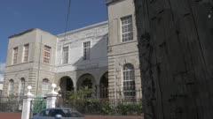 Exterior of Antigua and Barbuda Museum, St. John's, Antigua, Antigua and Barbuda, Caribbean Sea, West Indies, Caribbean, Central America