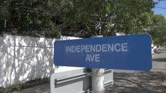 Independence Avenue, St. John's, Antigua, Antigua and Barbuda, Caribbean Sea, West Indies, Caribbean, Central America