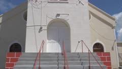 View of St. George's Parish Church, St. George's, Grenada, Windward Islands, West Indies, Caribbean, Central America