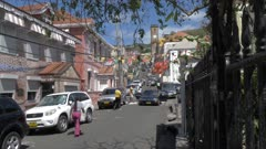 View of Church Street and Cathedral of the Immaculate Conception, St. George's, Grenada, Windward Islands, West Indies, Caribbean, Central America