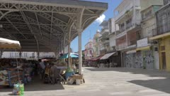 Spice Market in Spice Market Square, Pointe-a-Pitre, Guadeloupe, French Antilles, West Indies, Caribbean, Central America