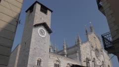 Duomo in Como, Lake Como, Lombardy, Italian Lakes, Italy, Europe