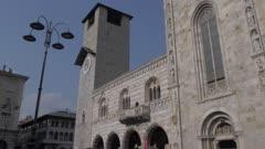 Duomo in Piazza del Duomo in Como, Lake Como, Lombardy, Italian Lakes, Italy, Europe