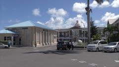Berkeley Memorial, Basseterre, St. Kitts, St. Kitts and Nevis, Leeward Islands, West Indies, Caribbean, Central America