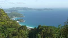 view south side from Tea Factory Seychelles gimbal
