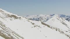 8K Aerial Mountain Aerial Reveal