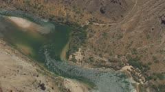 8k aerial Grand Canyon Colorado River